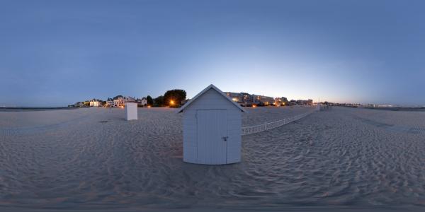 Le Pouliguen - cabine de plage