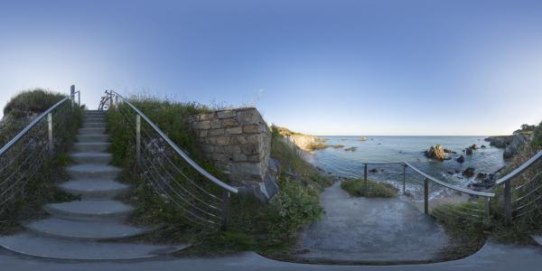 Le Pouliguen - escalier côte sauvage