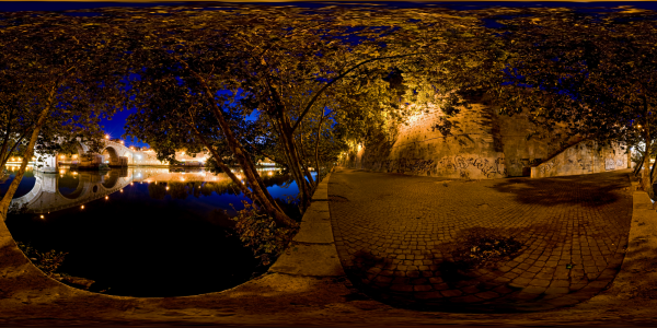Rome — Ponte Sisto 3