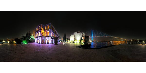 Istanbul —pont du Bosphore