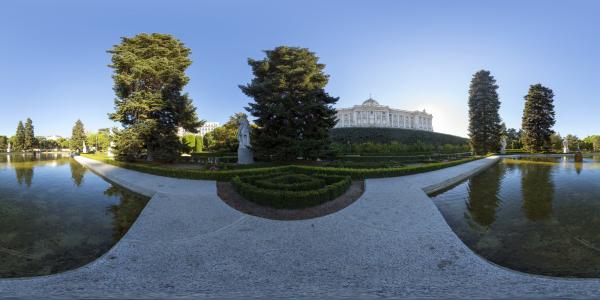 Madrid — Jardines de Sabatini