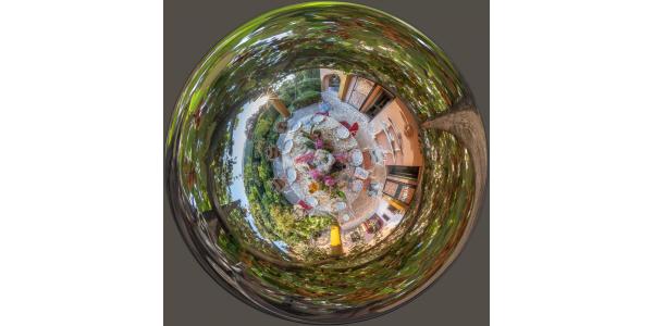 Table de jardin —Le Labyrinthe