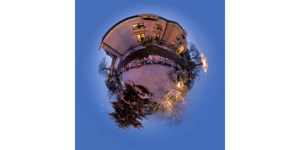 Louveciennes — Mairie sous la neige I