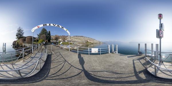 Lac Léman — Rivaz I