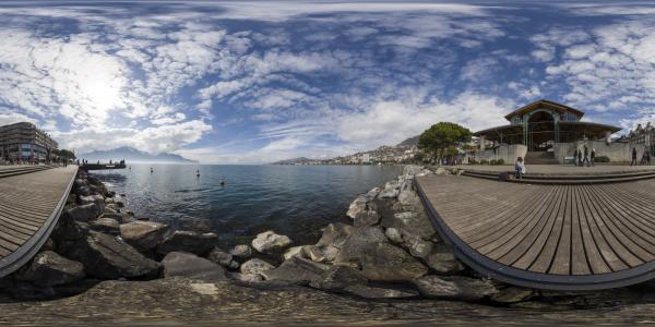 Lac Léman — Montreux