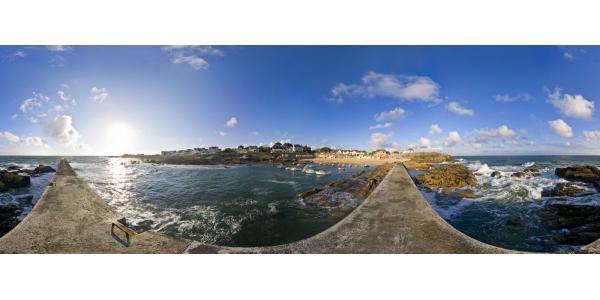 Batz-sur-Mer - plage et port Saint-Michel