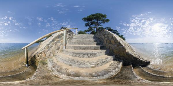 L'Herbe - escalier