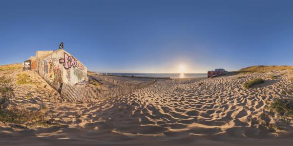 Cap Ferret - blockhaus plage de l'horizon