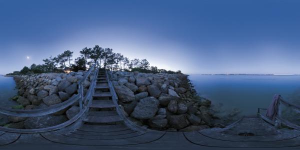 Cap Ferret - escalier