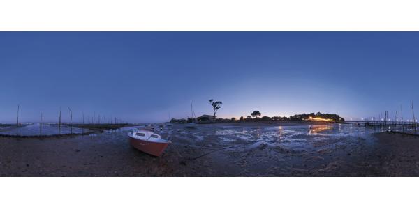 Cap Ferret - plage nuit