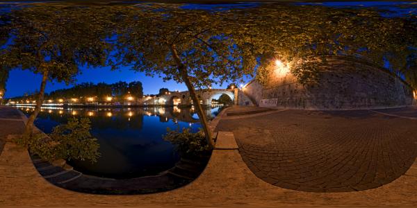 Rome — Ponte Sisto 1