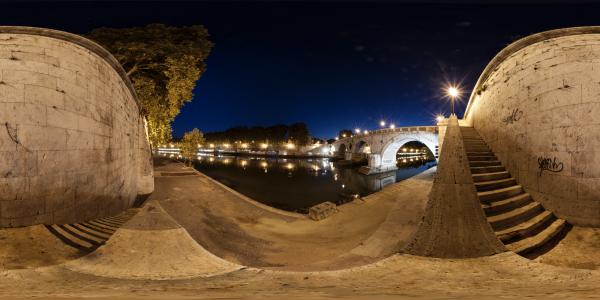 Rome — Ponte Sisto 4