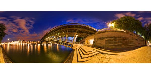 Paris — Pont Léopold 5