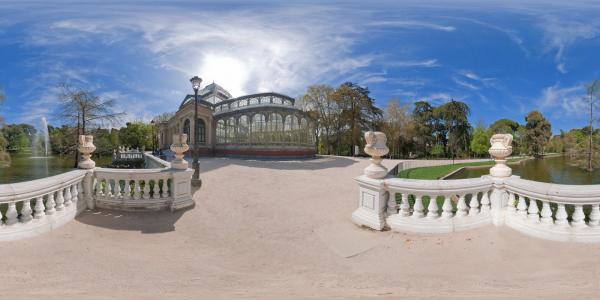 Madrid — Palacio de Cristal — Parque del Buen Retiro