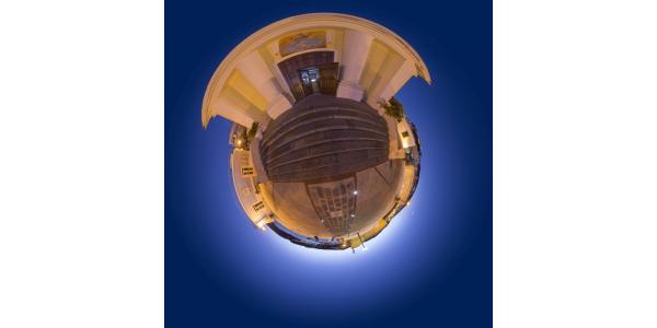 Ponza - le port, vue de nuit II